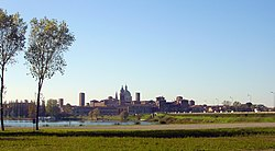 Panorama of Mantua