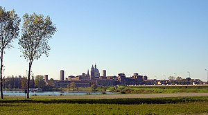 Mantua - Panorama of Mantua