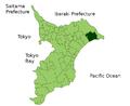 Map Asahi, Chiba en.png