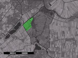 Westeinde, Zoeterwoude - Image: Map NL Zoeterwoude Westeinde
