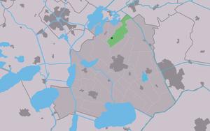Eagmaryp - Image: Map NL Skarsterlân Eagmaryp
