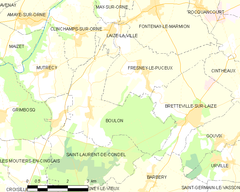 Map commune FR insee code 14090.png