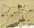 Map depicting battle against Isidro Barradas in vicinity of Tampico, Mexico, in 1829 LOC 2001620540.jpg