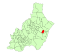 Map of Bédar (Almería).png