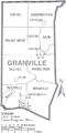 Map of Granville County North Carolina With Municipal and Township Labels.PNG