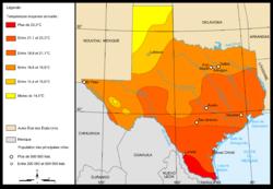 Geografía De Texas Wikipedia La Enciclopedia Libre - Mapa de texas