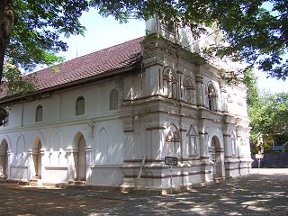 Maramon town in Kerala, India