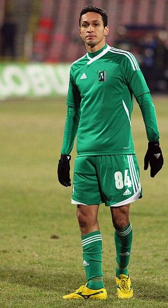 Marcelo Nascimento da Costa - Marcelinho playing for Ludogorets in 2011