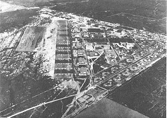March Air Reserve Base - Oblique aerial photo of March Field, taken in March 1932 looking southeast to northwest.