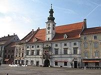 Maribor, town hall.