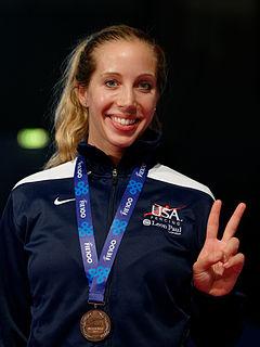 Mariel Zagunis American fencer