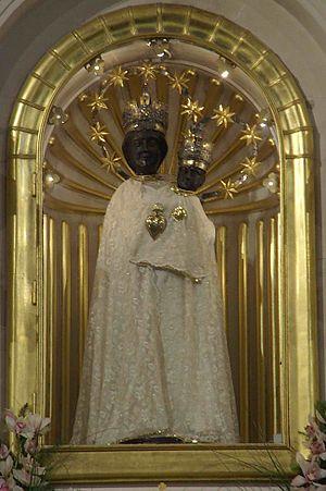 Marija Bistrica - The Black Madonna statue.