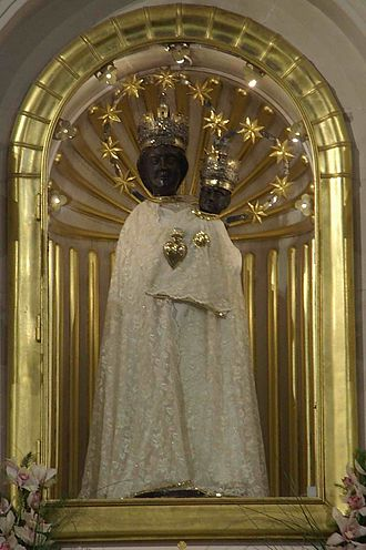 Marija Bistrica - The Black Madonna statue.