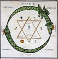 Marinier, Miracle naturel; zodiac chart. Wellcome L0026942.jpg