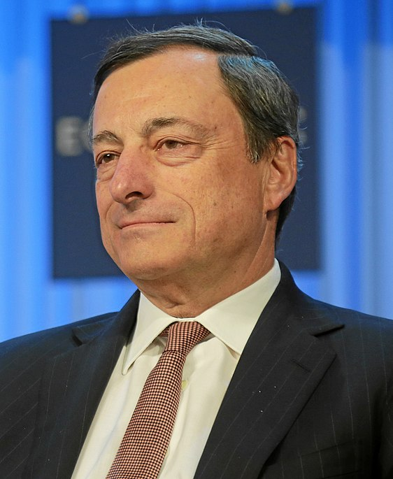 Mario Draghi, current President of the European Central Bank (from 2011) and former Governor of the Italian Central Bank (from 2006 to 2011). The main advocate for the project of a European Banking Uniom. (Wikipedia, CC BY SA 2.0)