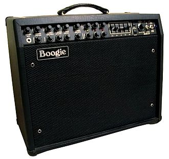 "Guitar amplifier - Mesa-Boogie ""Mark IV"", a guitar combo amplifier"