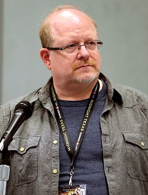Mark Waid - Waid at WonderCon 2017.