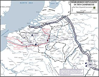 8th (The King's) Regiment of Foot - Major engagements of the war between 1702 and 1711.