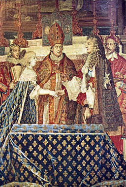 Marriage of Louis XIV with Marie-Therese of Austria