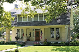 National Register of Historic Places listings in Williamson County, Texas - Image: Martin Amos House 1