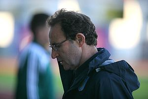 Sport in Ireland - Martin O'Neill played for Northern Ireland national team as a soccer player and now manages the Republic of Ireland national team.