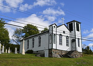 Hunter, New York - Mary of the Mountain Church in Hunter