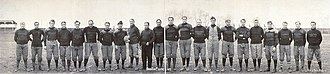 Massillon Tigers - Massillon Tigers line up of 1905.