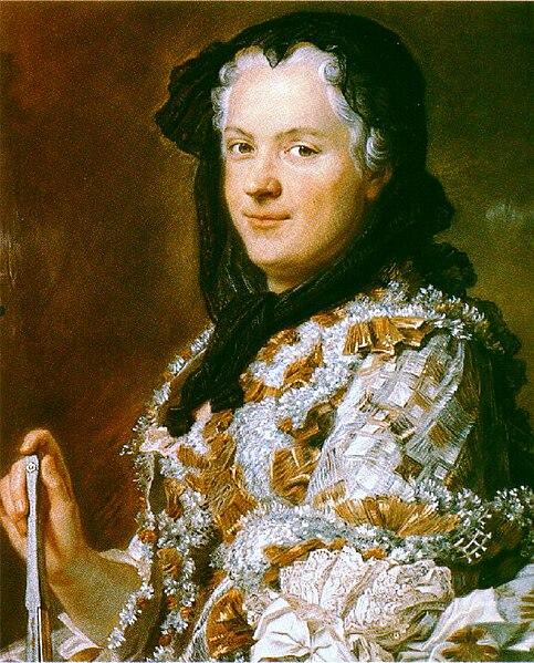 Fichier:Maurice-Quentin de La Tour, Portrait de Marie Leczinska, reine de France (1748) - 02.jpg