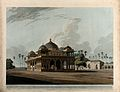 Mausoleum of Makhdam Shah Daulut at Maner, Bihar. Coloured a Wellcome V0050471.jpg