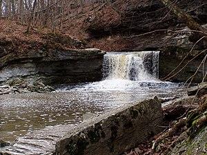 McCormick's Creek State Park - McCormick's Creek falls