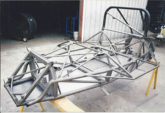 Can-Am - McLaren Can Am Chassis restored by Racefab Inc. for vintage racing