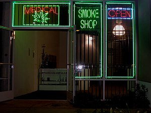 Medical marijuana dispensary on Ventura Boulev...