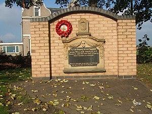 254th Tunnelling Company - Memorial to Sapper William Hackett VC in Mexborough