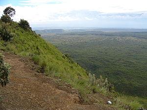 Menengai - Menengai Crater - view from the edge