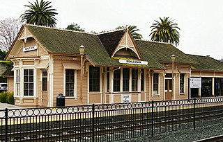 Menlo Park station train station