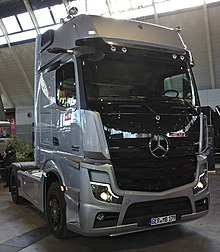 Betere Mercedes-Benz Actros – Wikipedia AR-38