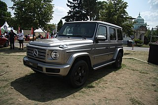 Mercedes-Benz G-Class Sport utility vehicle
