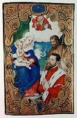 Madonna and Child with St. Roch and a donor.