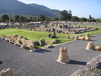 Messene - View of the ancient Asclepeion.