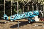 Messerschmitt Bf 109F-2 in the Great Patriotic War Museum 5-jun-2014 Side.jpg