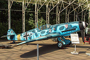 Messerschmitt Bf 109F-2 in the Great Patriotic War Museum 5-jun-2014 Side.jpg