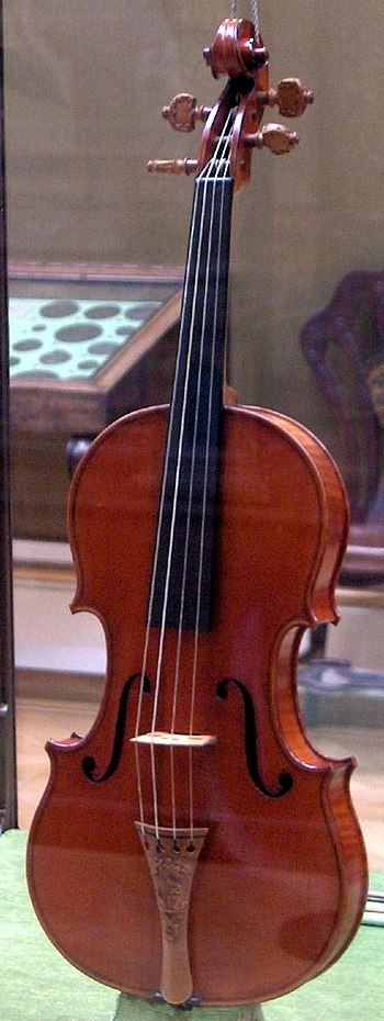 The Messiah Stradivarius violin by Antonio Str...