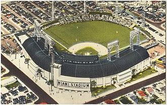 Miami Stadium - Other view of the stadium