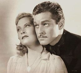 Michèle Morgan-Alan Curtis in Two Tickets to London.jpg