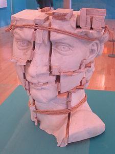 Michelangelo's 'David' by Eduardo Paolozzi, Tate Liverpool.jpg