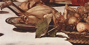 Supper at Emmaus (Caravaggio, London)