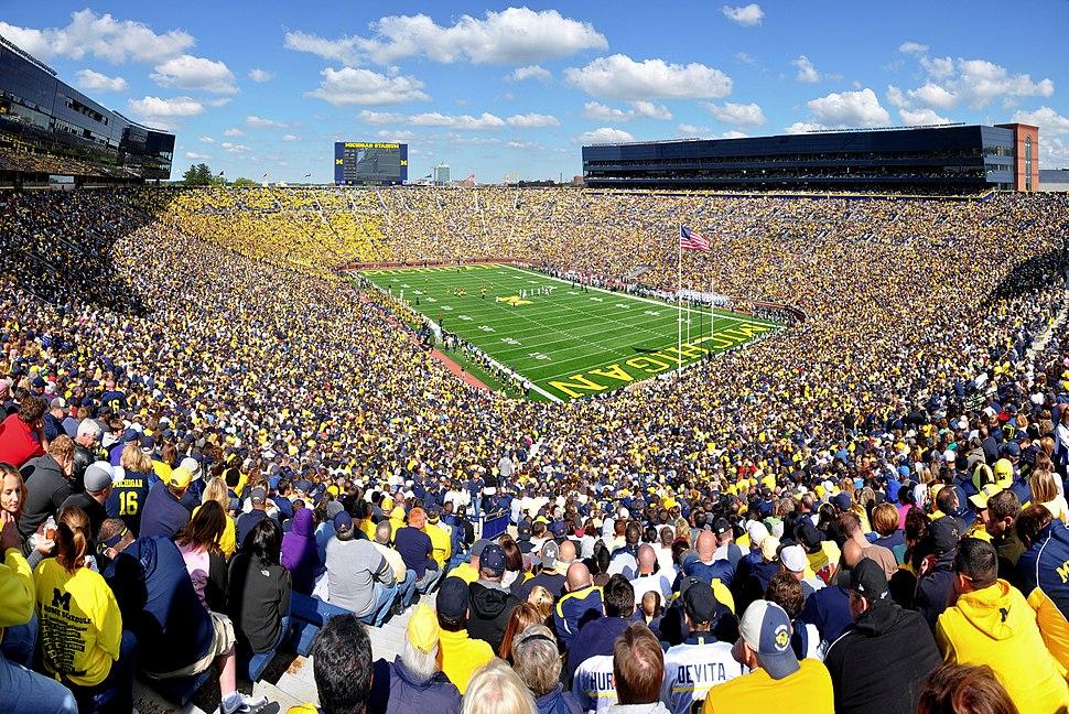 Michigan Stadium 2011