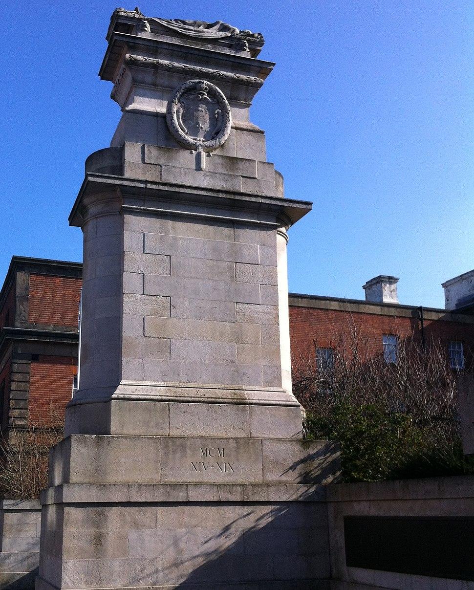 Midland Railway War Memorial, Derby 01