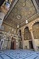 Mihrab (marking the direction of the Kaaba in Mecca) - Madrassa of Sultan al-Zahir Barquq (14613644777).jpg
