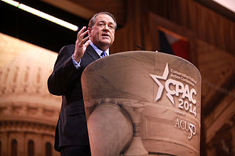 Mike Huckabee 2016 presidential campaign - Governor Huckabee speaking at the 2014 Conservative Political Action Conference (CPAC) in National Harbor, Maryland